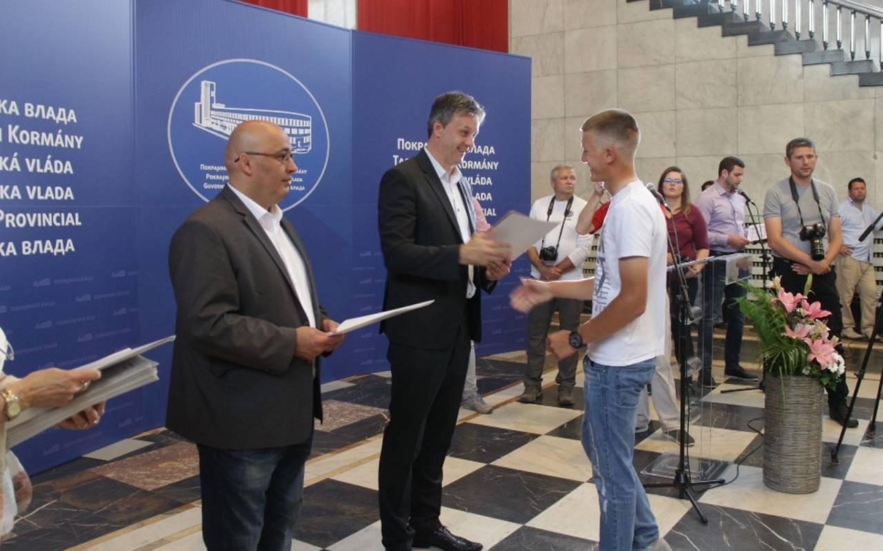 Mladi talenti u golfu podržani od Pokrajinskog sekretarijata za sport 1