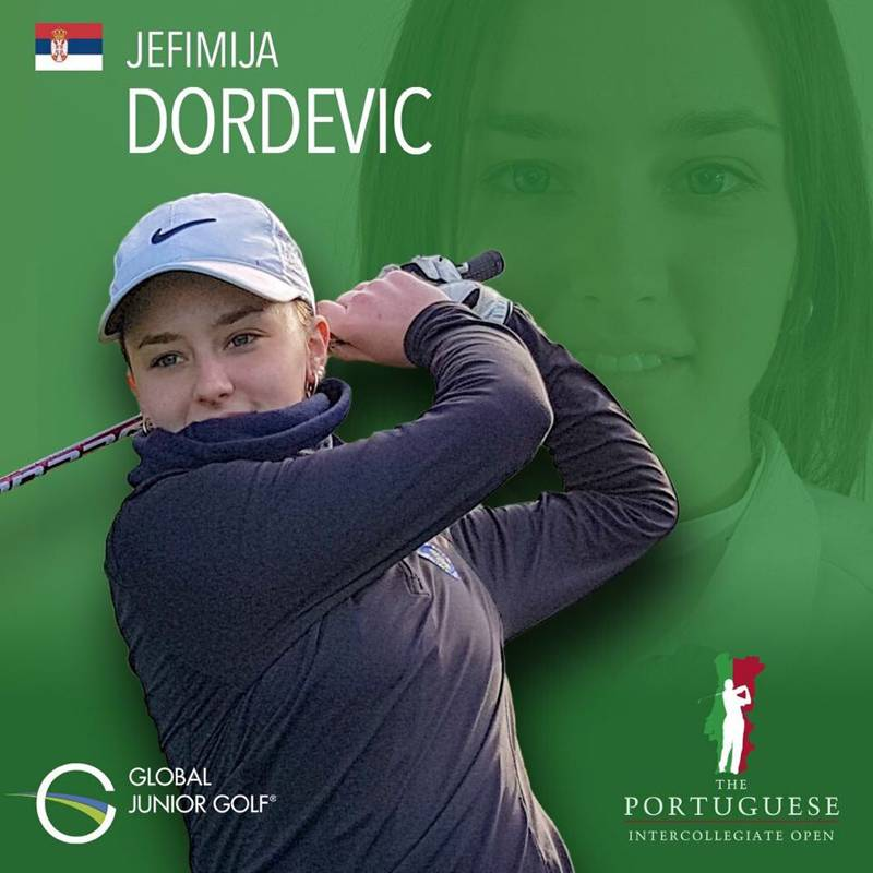Jefimija Đorđević u Top 5 na međukolegijalnom turniru u Portugalu 1